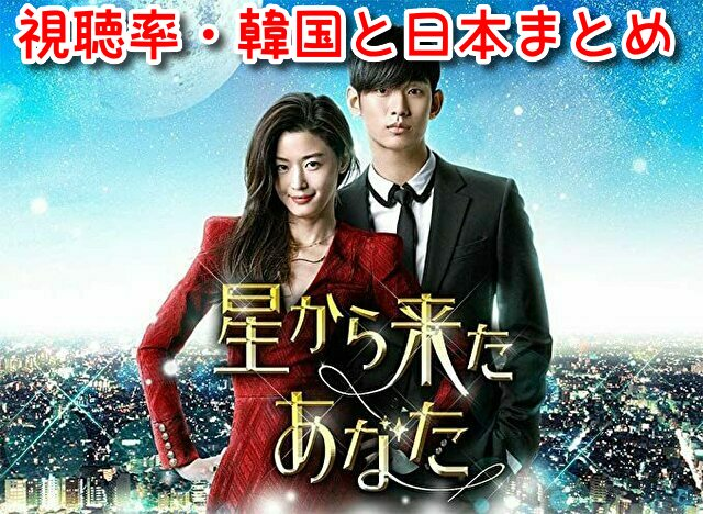 星から来たあなた 視聴率 韓国 日本 放送 全話