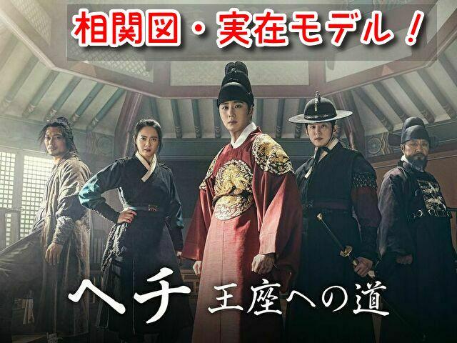 ヘチ王座への道 相関図 キャスト EX 画像 登場人物 実在 モデル