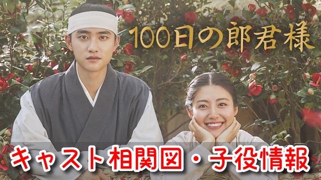 100日の郎君様 キャスト 相関図 EX 画像 子役 男の子 女の子