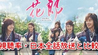 ファラン 視聴率 低い 韓国 日本 全話 放送