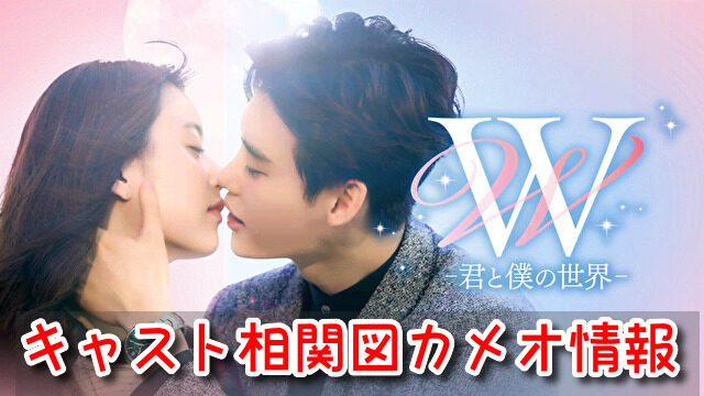 W 韓国ドラマ 相関図 キャスト EX 画像 一覧 カメオ 出演者